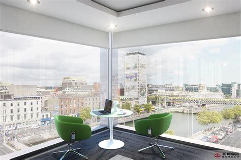 bureau design 3d design bureau interior rendering commercial