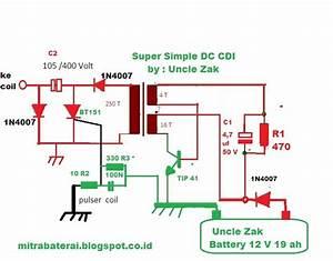 Solusi Battery  Cara Mudah Membuat Dc Cdi Motor