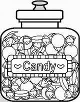 Candy Coloring Pages Printable Sweets Chocolate Christmas Bar Drawing Colouring Sheets Lollipop Candyland Pops Printables Houses Children Colorful Adult Open sketch template