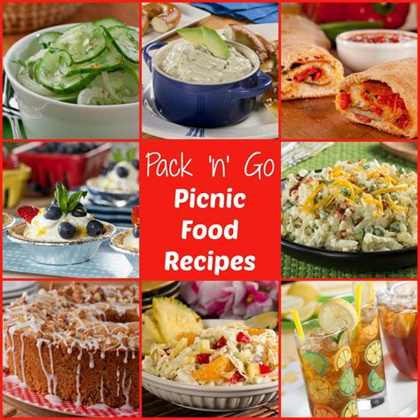 pack cuisine pack 39 n 39 go picnic food ideas free ecookbook mrfood com