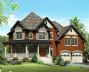 Rustic Farmhouse House Plan - 80849PM   Architectural ...