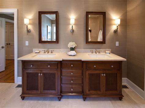 british colonial master bathroom double vanity