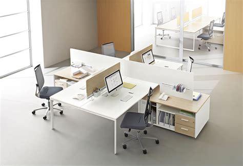 columbia mobilier de bureau call centers et open space bench atao 4 postes