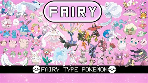 All Fairy Type Pokémon
