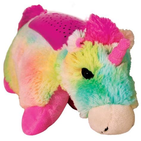 pillow pets dream lights dream lites pillow pets rainbow unicorn rotating lites