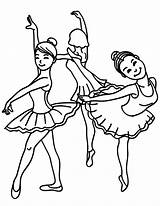 Coloring Pages Dance Ballet Dancing Drawing Friends Class Sketch Female Learning Template Shoes Young Tap Bear sketch template