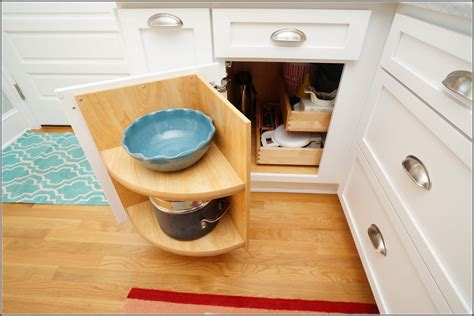 blind corner kitchen cabinet organizers diy blind corner cabinet organizer home design ideas 7922