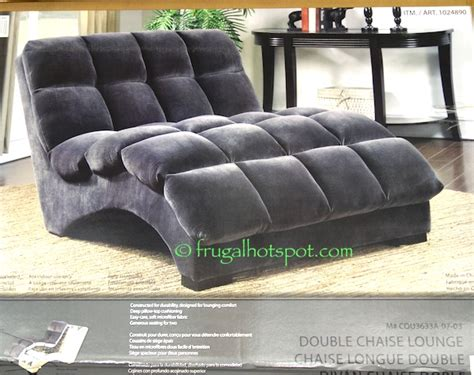 costco chaise lounge emerald fabric chaise lounge
