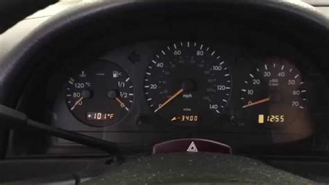 video reset wrench service due message  mercedes ml