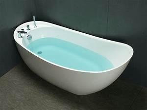 Freistehende Badewanne An Der Wand : freistehende badewanne natalia 181 l g nstig kaufen ~ Bigdaddyawards.com Haus und Dekorationen