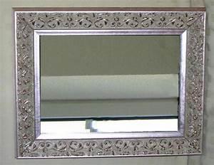 Spiegel Groß Mit Silberrahmen : spiegel mit metallrahmen haus ideen ~ Bigdaddyawards.com Haus und Dekorationen