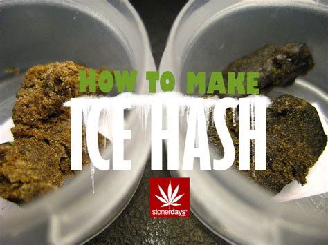how to make hash how to make ice hash stoner recipes