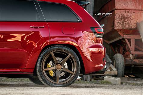 jeep srt velgen wheels classic bronze