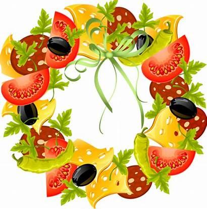 Vegetable Clip Vegetables Clipart Border Garden Fruit