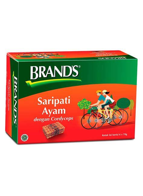 brands saripati ayam 70g brand 39 s essence of chicken cordyceps btl 70g klikindomaret