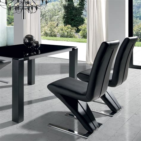 design chaise chaise design blanche ou en pu reims