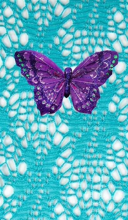 Butterfly Purple Turquoise Dragonfly Backgrounds Wallpapers Iphone