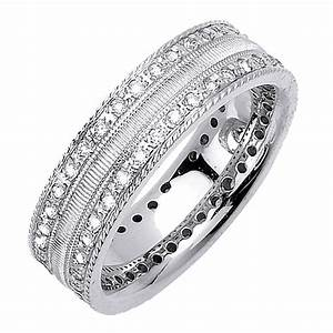 Mens gold diamond wedding rings men wedding rings with for Wedding rings for men with diamonds