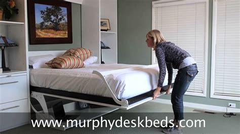 Murphy Deskbeds Queen Vertical In White