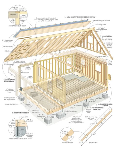 cabin house plans world s most complete small cabin plans