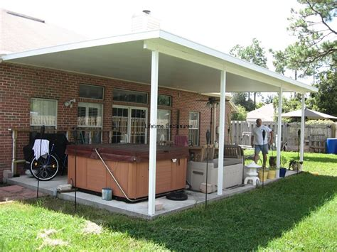 carports and patio covers patio covers carports awnings lifetime enclosures