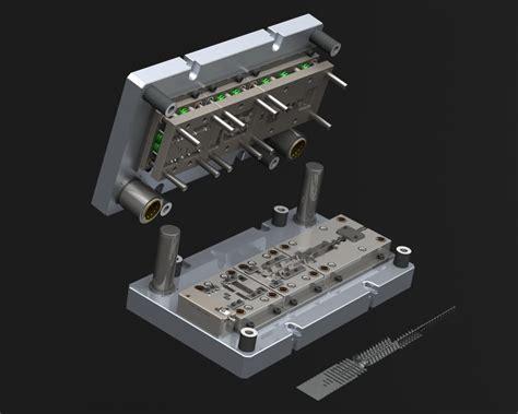 Progressive Die Designs - Solid CAD works