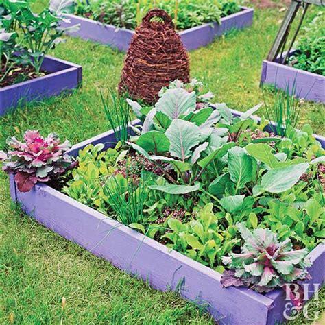 Smallspace Vegetable Garden Plan & Ideas
