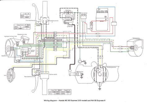 Honda Express Wiring Schematic