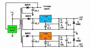 Voltage Regulator With Lt1086