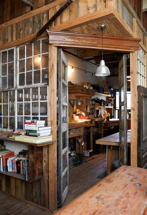 indoor workbench progress home tool room house