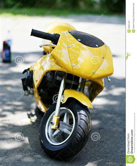 Motor Minti by Yellow Mini Motor Bike Stock Image Image Of Shiny
