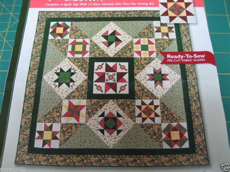 Lot Of 5 Joann Legacy Star Quilt Block Of The Month 2003