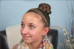 Simple Braided Bun Cute Girls Hairstyles