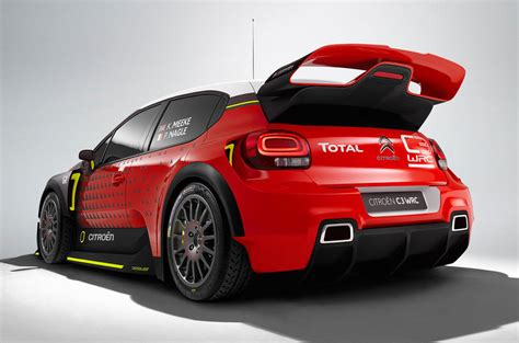 2017 Citroën C3 Wrc Paris Concept Will Spawn Fiesta St