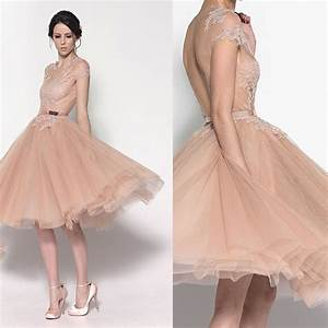 aliexpresscom buy new fashion romantic cheap short With champagne cocktail dress for wedding