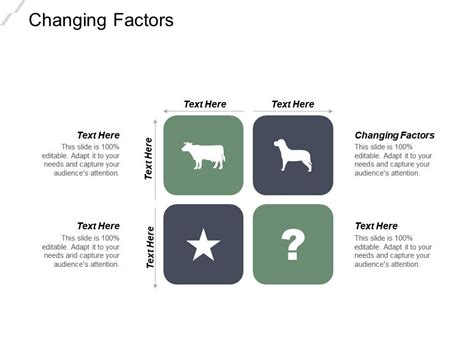 changing factors  powerpoint  infographic