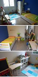 Chambre Garçon 3 Ans : bureau pour chambre d 39 enfants de 3 et 5 ans e zabel blog maman parisienne ~ Teatrodelosmanantiales.com Idées de Décoration