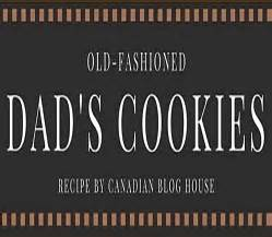 Old-Fashioned Dad's Cookies