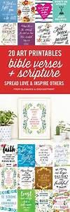 20 Bible Verse And Scripture Art Printables Elegance