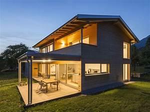 Haus L Form : hanghaus einfamilienhaus r this modern massivbau moderne architektur haus l form modern ~ Buech-reservation.com Haus und Dekorationen