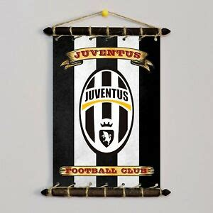 JUVENTUS SET FLAG With LOGO SET 5in1: Banner Sticker ...