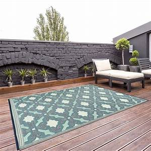 outdoor reversible area rug 8x10 florida blue