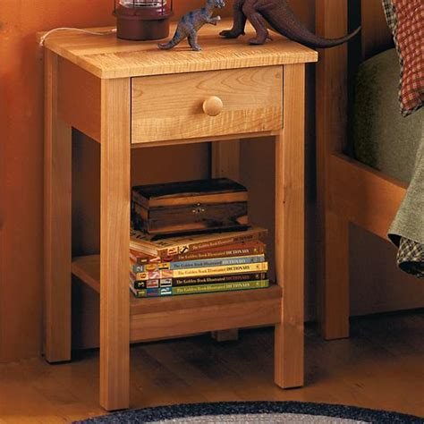 Simple Nightstand by Nightstands Honey Simple Nightstand The Land