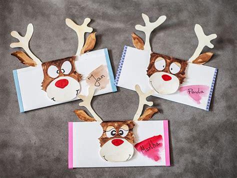 gutschein weihnachtlich verpacken lustige gutschein basteln weihnachten geschenkideen