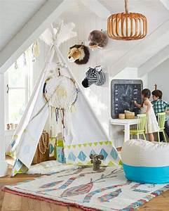 Tipi Chambre Garçon : la chambre boh me chic pour enfant ~ Teatrodelosmanantiales.com Idées de Décoration