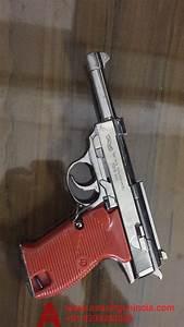 walther P38 chrome cigarette lighter by airsoft gun india ...  Gun