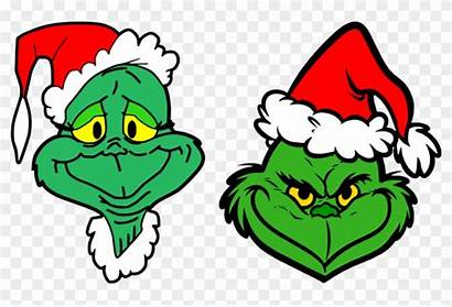 Grinch Clipart Cartoon Face Mouth Movies Personal