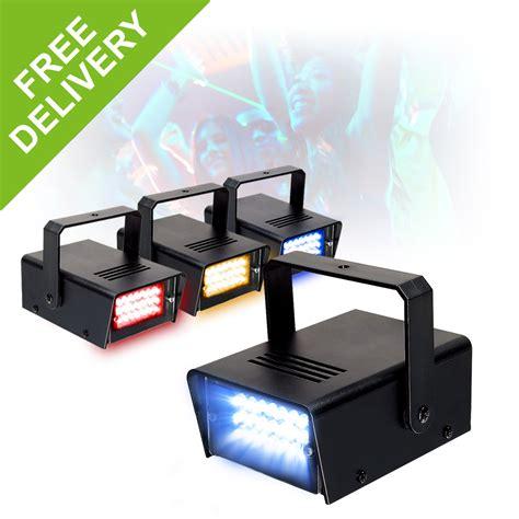multi color strobe light beamz multi colour strobe set 4 lights rybw mobile dj