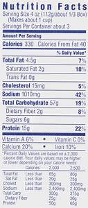 Nutritional Value Of Macaroni And Cheese From Kraft ...