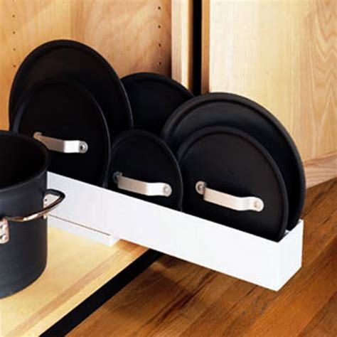 kitchen lid organizer pull out lid organizer the container 2138